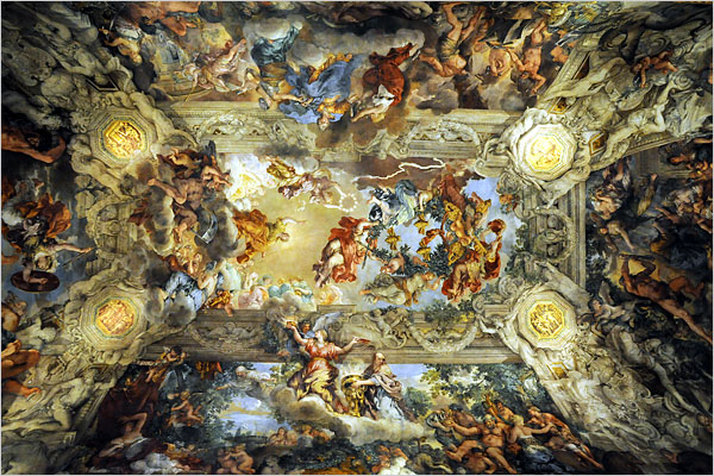 Palazzo Barberini The Triumph Of Divine Providence